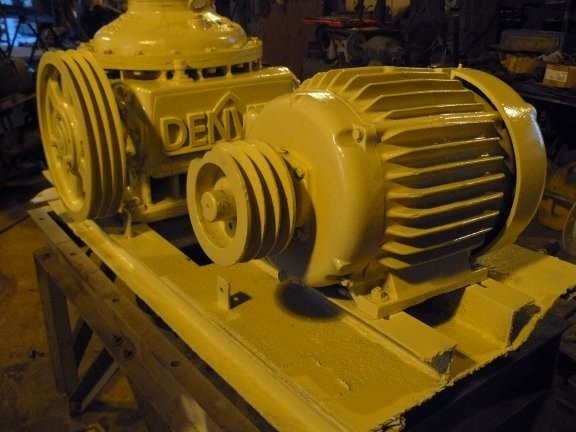 DENVER No 8 Agitator Drive ith 15 HP Baldor Motor