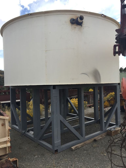 "14' Diameter Thickener, 5'6"" Deep With Structure With Mechanism And 3/4 Hp Motor"