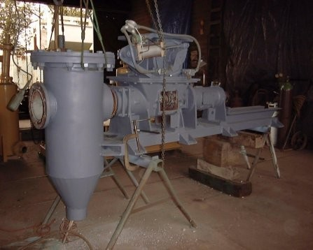 FULLER-KINYON Cement Pump with 30 HP motor