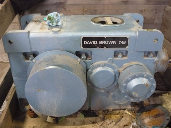 DAVID BROWN Shaft Mtd. High Speed Gear Reducer, Unused, Type AB3SF-280, ratio 45.731:1