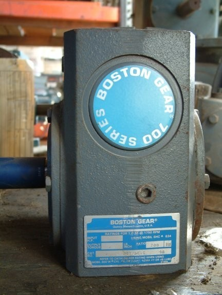 Boston Gear 700 Series Gear Reducer, Input Hp 7.000, Ratio 200:1
