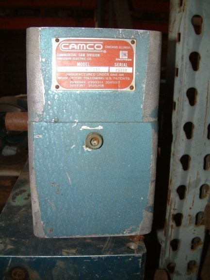 CAMCO, COMMERCIAL CAM CO. INC, Emerson Electric Co., Model 387P4H28-120 Gear Reducer