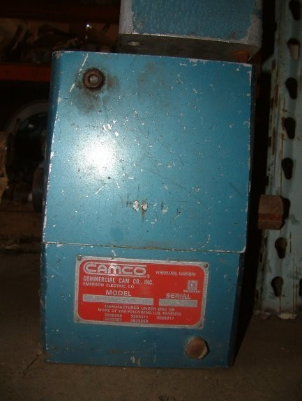 Camco, Commercial Cam Co. Inc, Emerson Electric Co., Model 512p2h40-270 Gear Reducer, Ratio Is 2:1