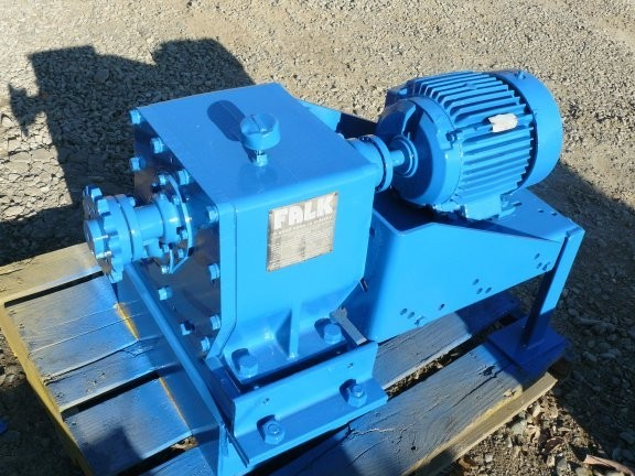 FALK Enclosed Gear Drive, Model 00-1030FZ2A, ratio 25.64:1, 5 HP
