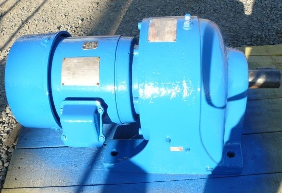 LINKBELT Gear Motor, Model CDF-55, 20.9:1 ratio, 5 HP