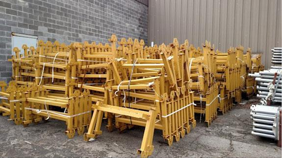 """7 Miles of Refurbished 36"""" Overland Conveyor System & Head & Tail Sections (Hanging Idlers Type) with Unused 3-ply Steel Core Belt, No Cover"""