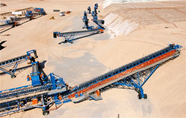 2 Units - Mobile Conveyor Stacking Systems Including Grasshoppers, Belt Transverse, Stacker Feeder, Belt Stacker & Belt Stinger