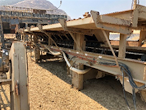 """Discharge Conveyor, Approximately 72"""" W X 32' L"""