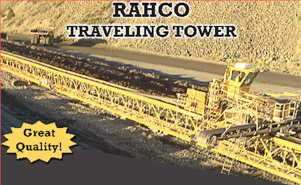 "RAHCO 30"" x 1500' Traveling Tower"