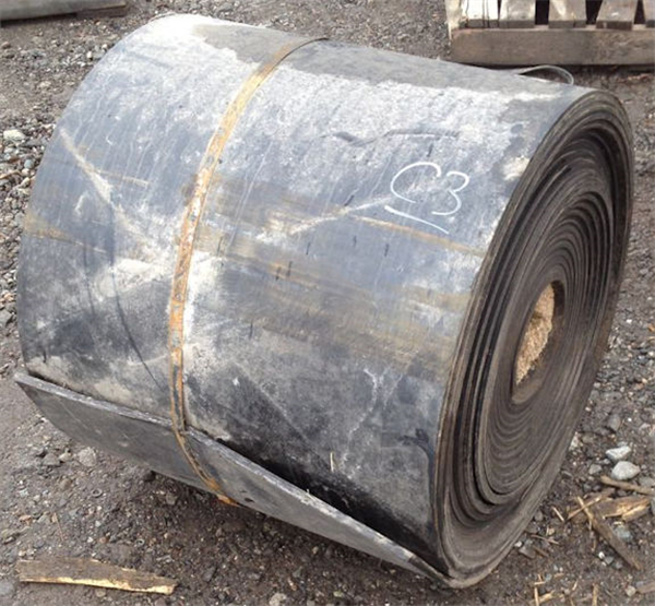 "26"" W x 100' L Roll of UNUSED Conveyor Belting"