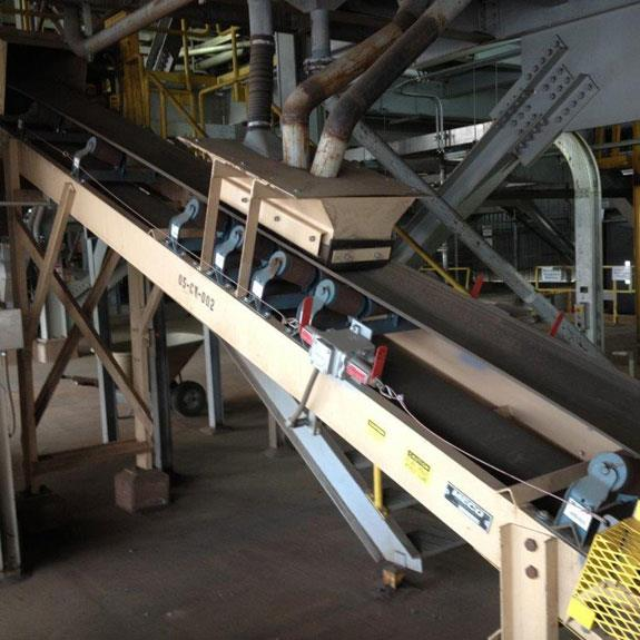 """Meco 18"""" W X 20' L Rotex Trash Screen Undersize Transfer Incline Conveyor With 3 Hp Motor"""