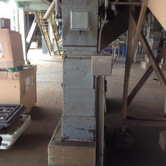 """Meco 86'6"""" D/h Bucket Elevator, Model B85a24 With 5 Hp Motor"""