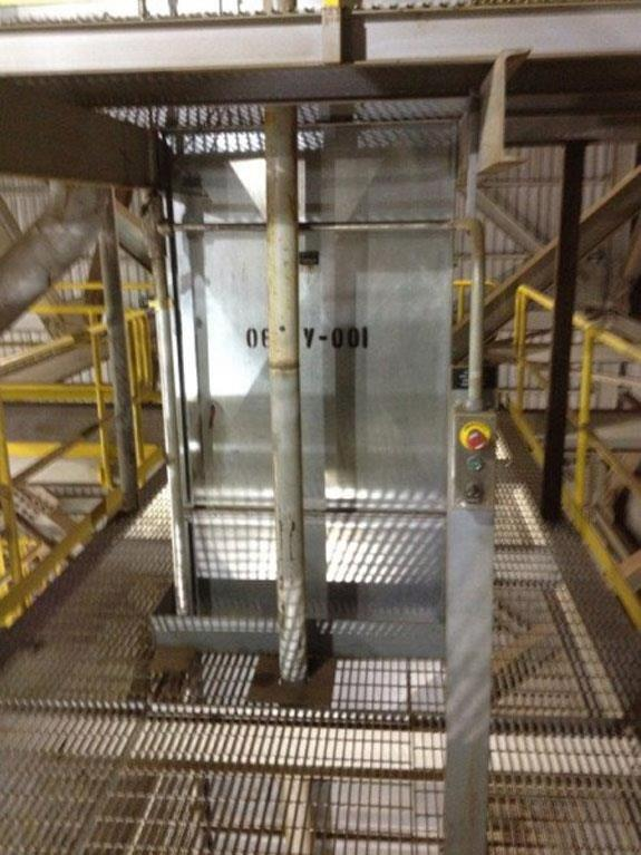 """Meco 89'6"""" D/h Bucket Elevator, Model B85a24 With 7.5 Hp Motor"""