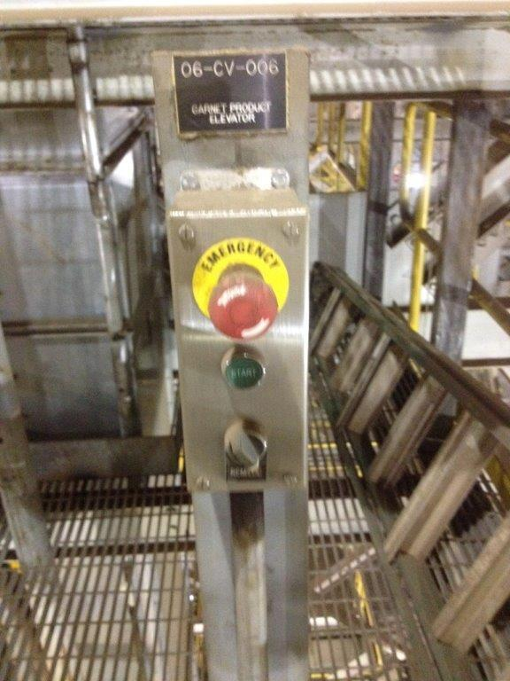 """Meco 92'6"""" D/h Bucket Elevator, Model B85a24 With 5 Hp Motor"""