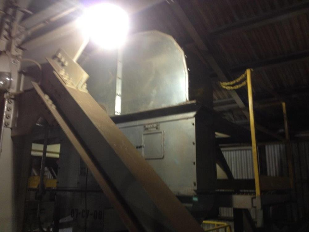 Meco 88' D/h Bucket Elevator, Model B85a24 With 7.5 Hp Motor