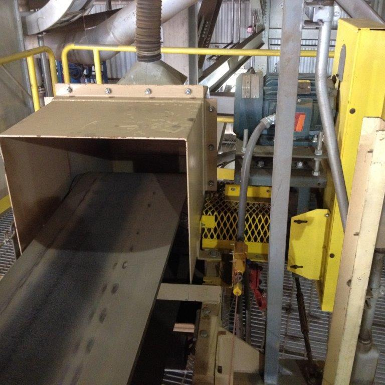 """Meco 18"""" X 16' Model 8c18 High Iron Product Transfer Conveyor With 3 Hp Motor"""