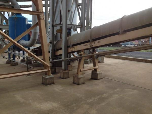 "MECO 18"" x 48'1"" Model 8C18 FBD Product Transfer Conveyor with 3 HP Motor"