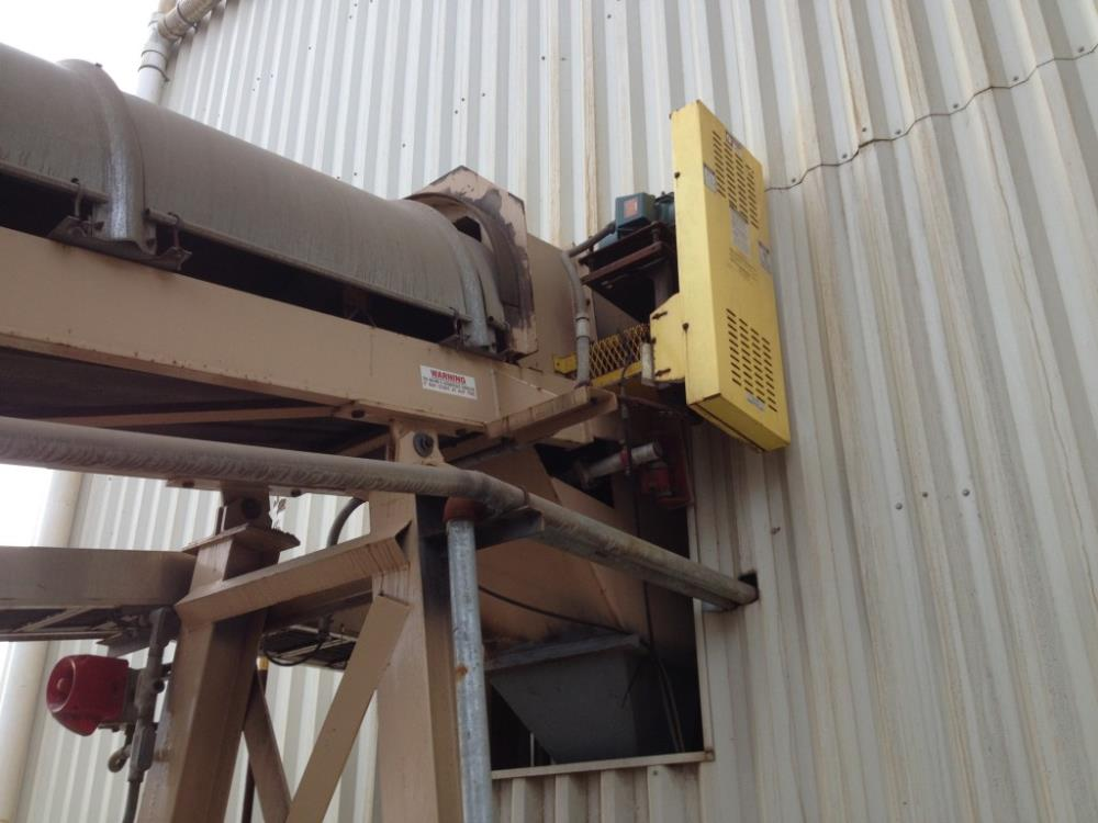 """Meco 18"""" X 48'1"""" Model 8c18 Fbd Product Transfer Conveyor With 3 Hp Motor"""