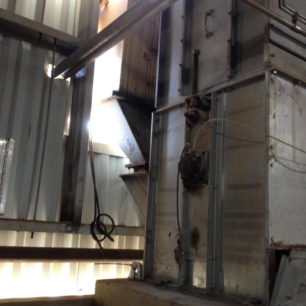 2 Units - Meco Model B85a24 Bucket Elevators, 92' L With 5 Hp Motor