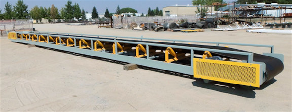 "4 Units - Unused 36"" W X 60' Stackable Transfer Conveyors"