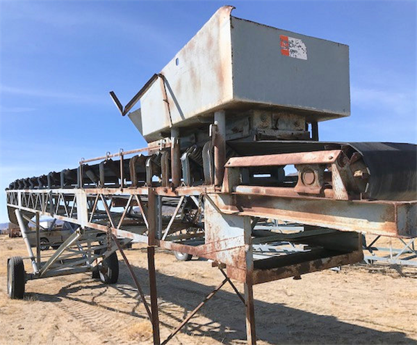 "36"" X 70' Radial Stacker"
