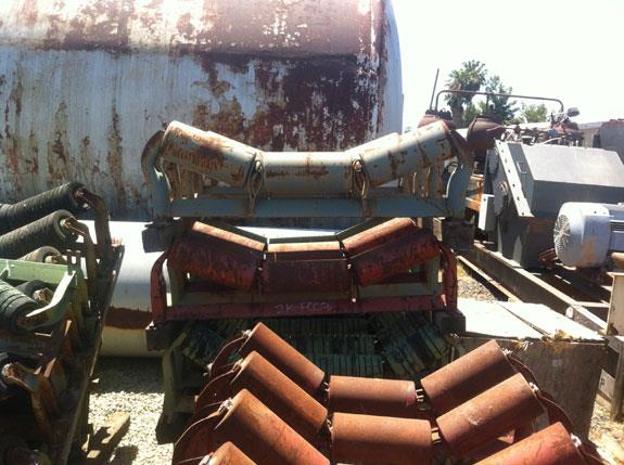 "Lot Of Several Conveyor Idlers, 30"", 36"" And 48"""