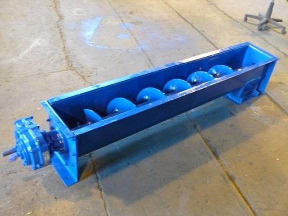 "10"" dia. x 6' L Screw Conveyor"