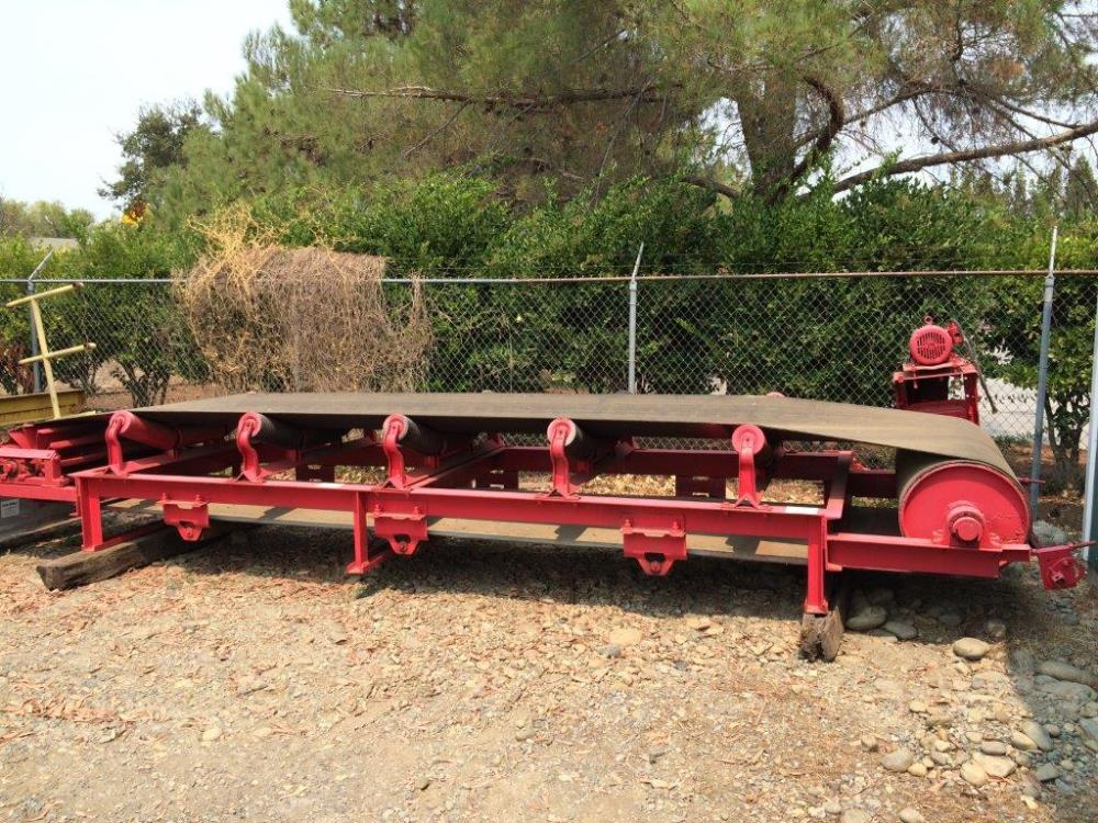 "48"" W X 18' L Conveyor With 3 Hp Motor"