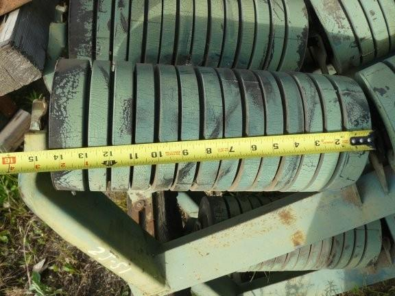 """15 Units - Rexnord 42"""" Impact Idlers, 35 Degree"""