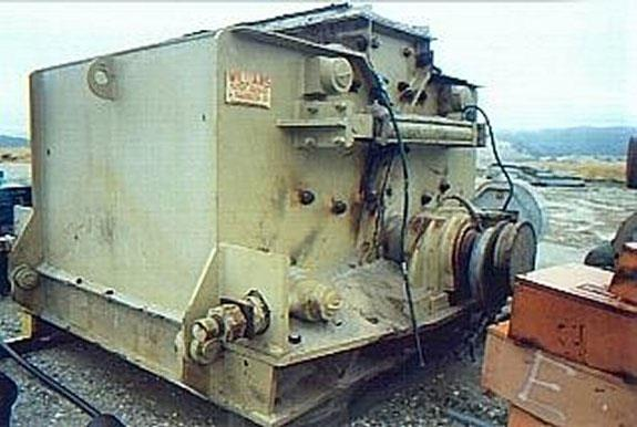 "WILLIAMS Model K, Type 680 Reversible Impact Crusher, 60"" dia. x 80"" long Rotor, Swing Type Sledge Hammers"