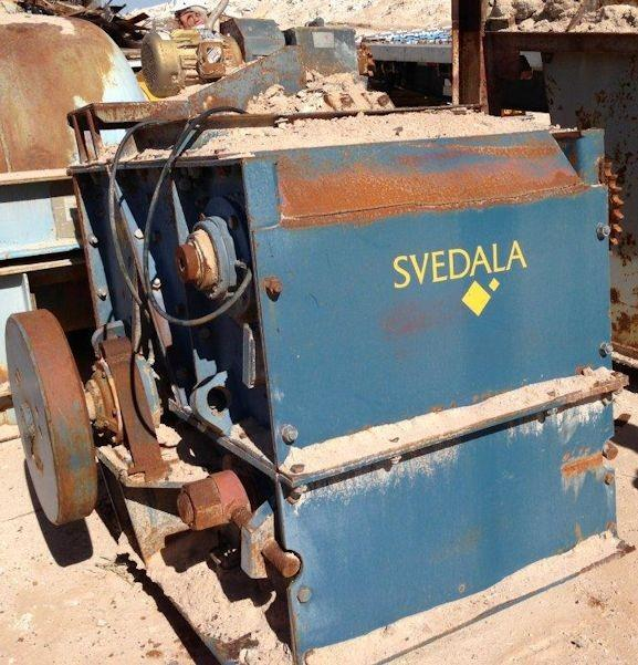 SVEDALA Model H-03-NC Hammer Mill