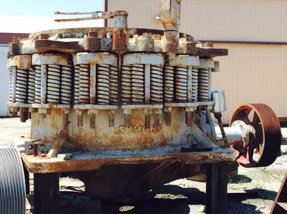 Reconditioned Symons-nordberg 5-1/2' Sh Cone Crusher With 300 Hp Motor