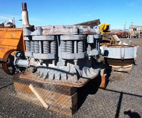 Symons-nordberg 3' Std Cone Crusher With 50 Hp Motor