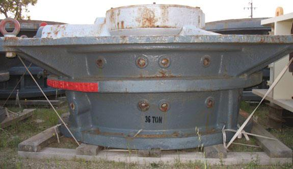 "Spare KOBE STEEL - ALLIS CHALMERS 42"" X 65"" Gyratory Crusher Bare Botton Shell/Mainframe"
