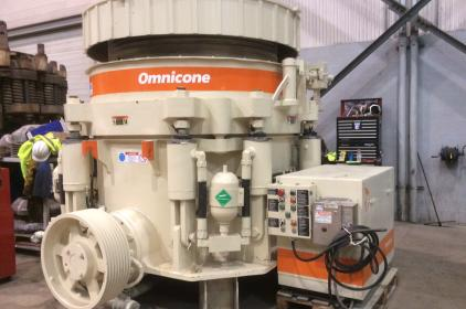 UNUSED METSO NORDBERG 1560 Omnicone Mainframe Assembly