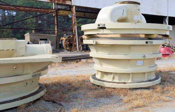 Unused Metso 42-65 Mk Ii Gyratory Crusher