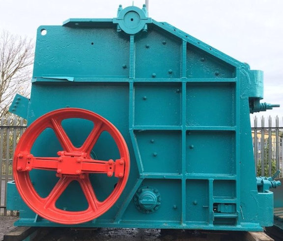 "KUE-KEN 36"" x 48"" Model 150 Jaw Crusher with Optional Feeder"