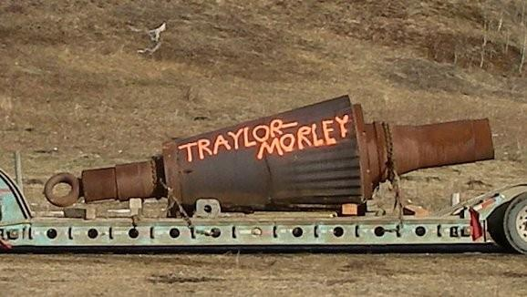 "Lot of SPARE parts for TRAYLOR 54"" x 74"" Bulldog Type ""T"" Gyratory Crusher including Head & Mainshaft, Countershaft, Pinion Gears, Eccentric Gear and more"