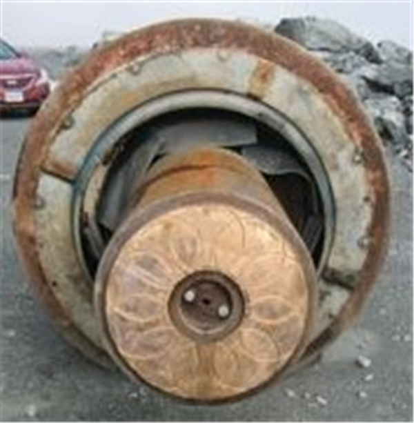 Spare Head & Mainshaft For Allis Chalmers 42 X 65 Gyratory Crusher