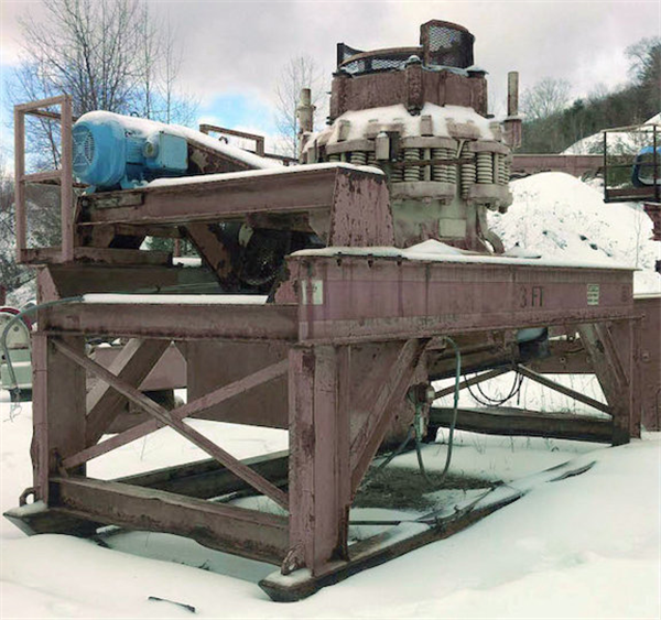 SYMONS 3' STD Cone Crusher with motor