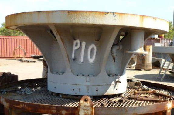 "Fuller Traylor 54"" X 74"" Exh Primary Gyratory Crusher, 450 Kw (600 Hp)"