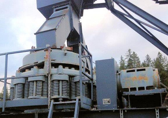 1 Units - Symons-nordberg 4-1/4' Sh Cone Crushers With 200 Hp Motor And Lube Set