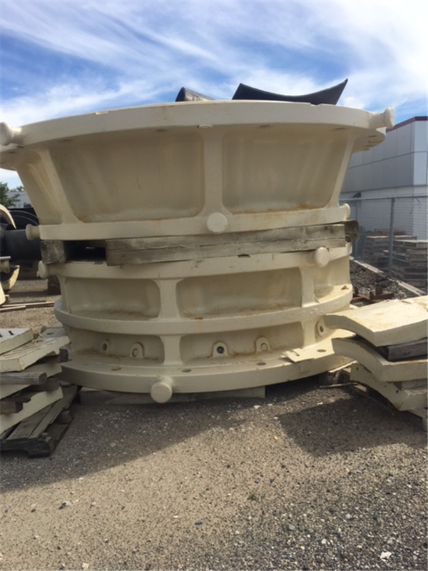 "ALLIS CHALMERS 54"" x 74"" Superior Gyratory Crusher, 1000 HP"