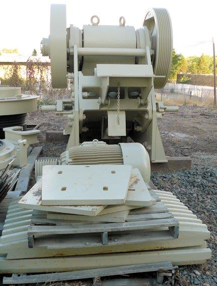 "Metso Model C100 Jaw Crusher, 1000mm X 760mm (40"" X 30"") With 150 Hp Motor"