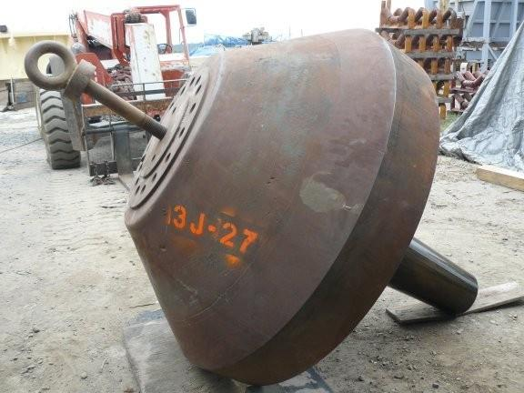 Spare SYMONS Head and Main Shaft for 5-1/2' Shorthead Cone Crusher