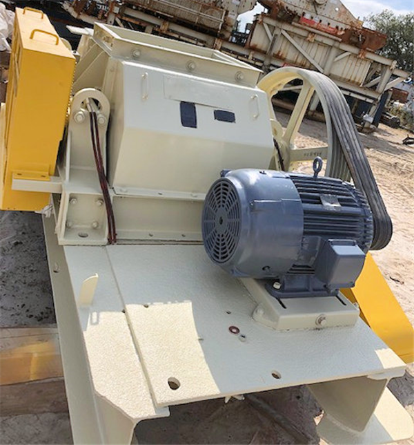 "2 Units - Jeffrey 24"" X 30"" Double Roll Crushers, Each With 25 Hp Motor"