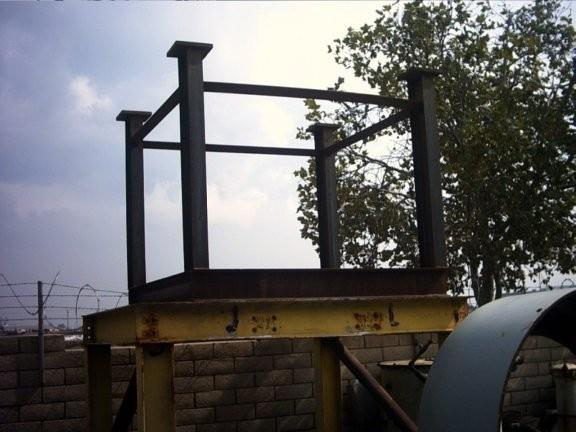 2 Units - Cone Crusher Steel Stands To Support 7' Head And Shaft