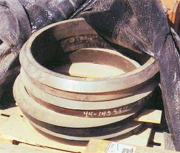 6 Units - Nordberg Mp1000 Cone Crusher Torch Rings