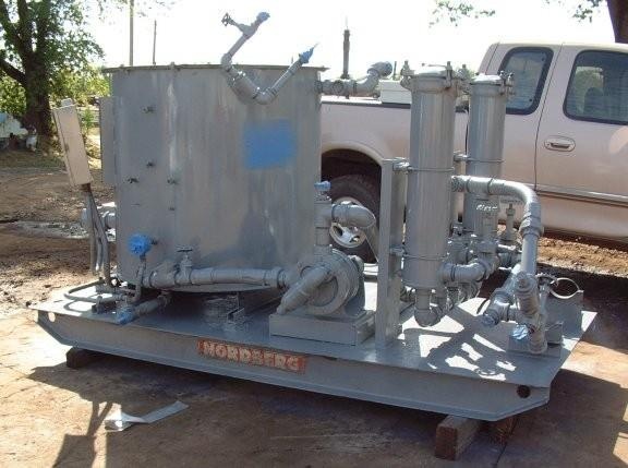 NORDBERG 7'  Cone Crusher Lube System Round Oil Tank