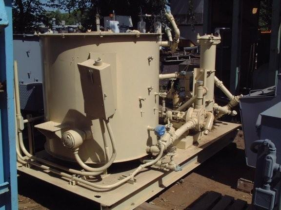 2 Units - Nordberg 7' Cone Crusher Lube System Round Oil Tank
